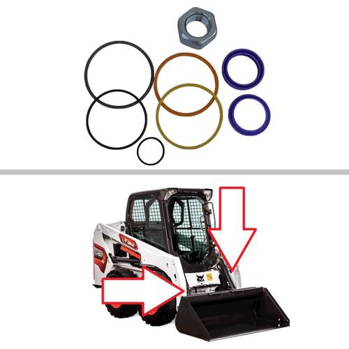 Bobcat Tilt Cylinder S220, S250, S300, S330, T250, T300, T320, A300 Seal Kit -- 7135547