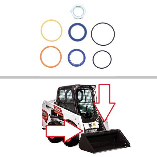 Bobcat S130, T140 Tilt Cylinder Seal Kit -- 7137770