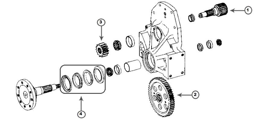 john deere 1010 wiring schematic john deere 1010  350 dozer final drive parts  john deere 1010  350 dozer final drive