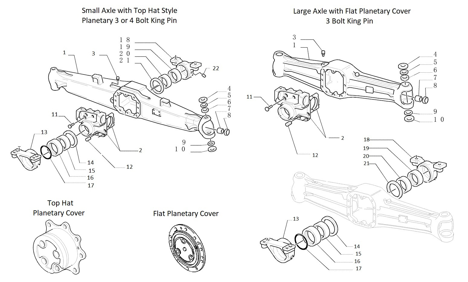 Ford / New Holland Front Axle Housing New Holland Tb Alternator Wiring Diagram on