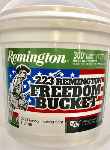 Remington Freedom Bucket .223Rem 55gr FMJ (300rnds)