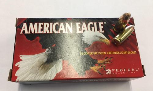 American Eagle 9mm Luger 115gr FMJ (50rnds)
