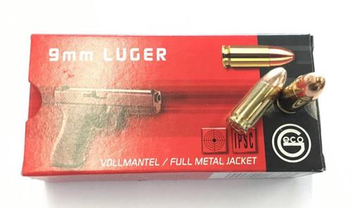 Geco 9mm Luger 124gr FMJ (50rnds)