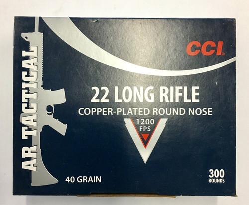 CCI AR Tactical .22lr 40gr CP-RN (300rnds)