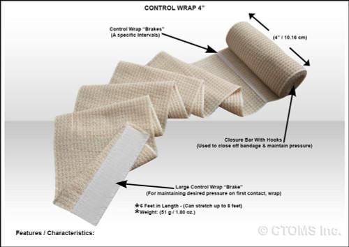 "Control Wrap 4"""