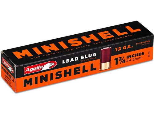 "Aguila Minishell 12ga 1-3/4""  5/8oz  Rifled Slug"