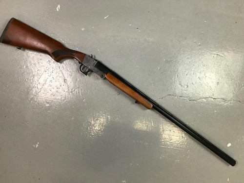Lazer Arms Single Shot Folding Shotgun - 12Ga Walnut Exposed Hammer