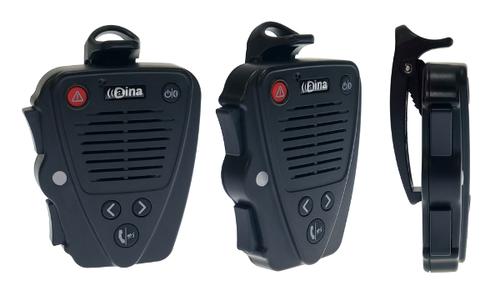 Aina Wireless PTT Voice Responder Bluetooth Speaker Mic