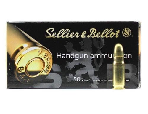 Sellier & Bellot 7.62x25 Tokarev