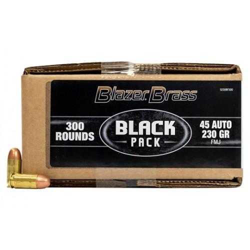 CCI .45ACP 230gr FMJ Black Pack (300rnd)