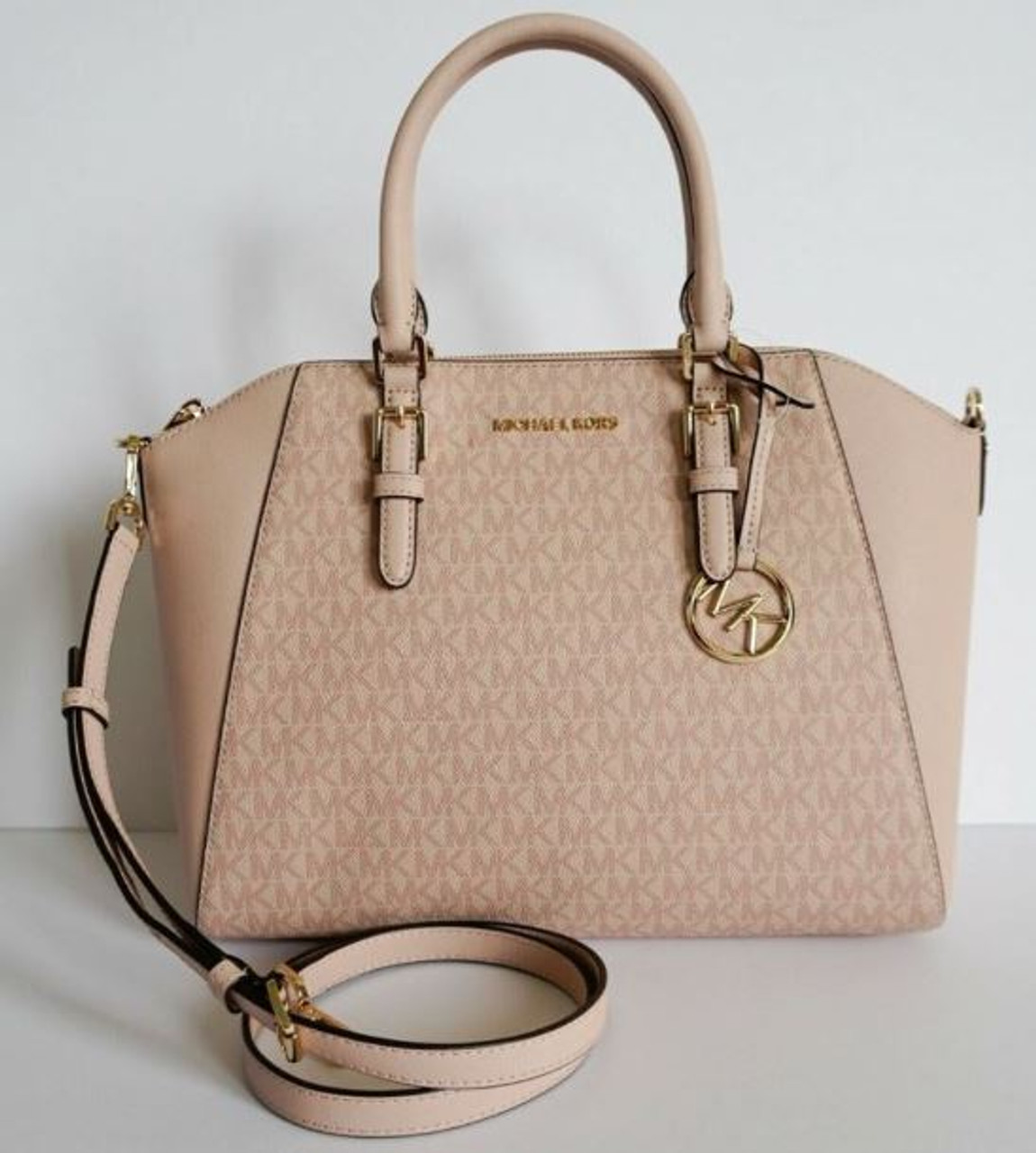 Michael Kors Ciara Large Top Zip Satchel (BALLET) 35S9GC6S3B 857