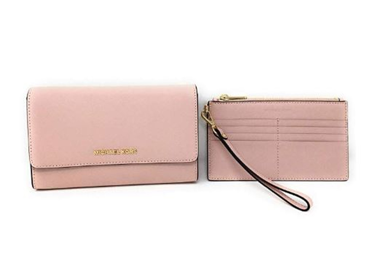 Michael Kors 3 In 1 Crossbody Bag With Removable Pouch (Blossom) 35S9GTVC3L 656