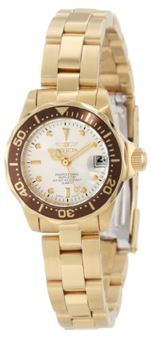 Invicta Women's 12525 Pro-Diver Silver Dial Watch [Watch] Invicta