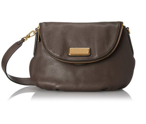 Marc by Marc Jacobs New Q Natasha Cross Body Bag, Faded Aluminum, One Size