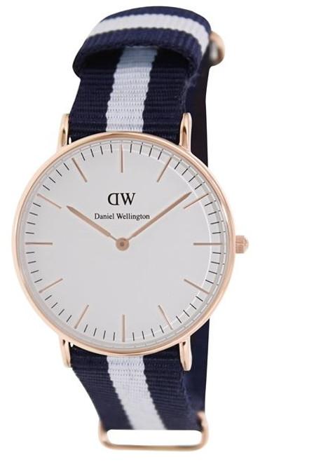 Daniel Wellington Women's 0503DW Glasgow Analog Display Quartz Multi-Color Watch