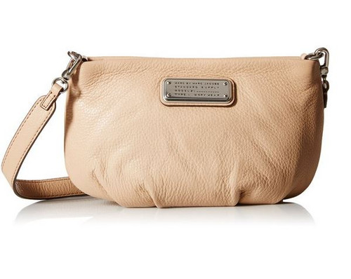 Marc by Marc Jacobs New Q Percy Cross Body Bag, Cameo Nude, One Size