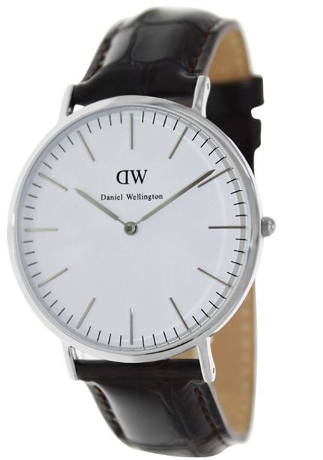 Daniel Wellington Men's 0211DW York Analog Display Quartz Brown Watch