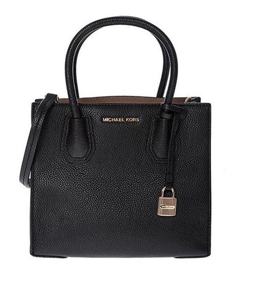 Michael By Michael Kors Women's Black Leather Handbag 30F6GM9M2L-001