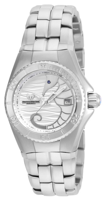 TechnoMarine Cruise Dream Silver Dial Ladies Watch 115283