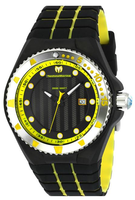 Technomarine Men's TM-115218 Cruise Locker Quartz Charcoal Dial Watch