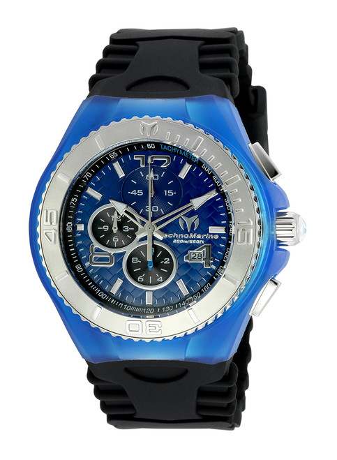 Technomarine Men's TM-115114 Cruise JellyFish Quartz Blue Dial Watch