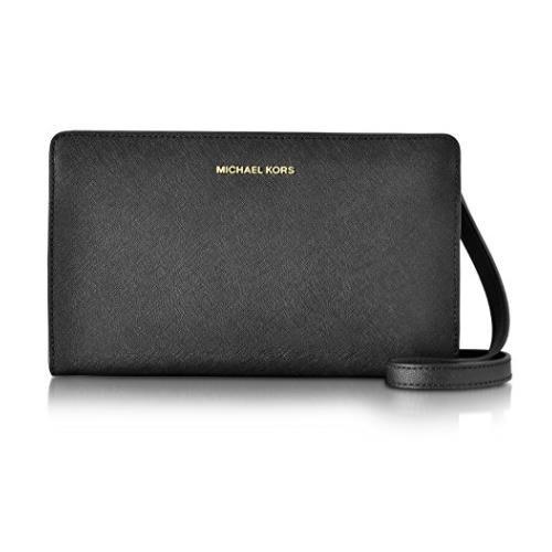 Michael By Michael Kors Women's Black Leather Shoulder Bag … 32F6GTVC3L-001