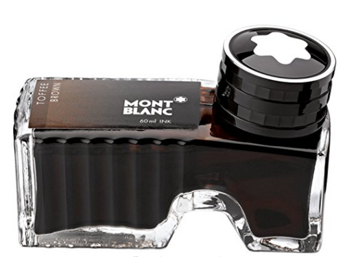 Mont Blanc Ink Bottle, Toffee Brown (105188) 60ml …