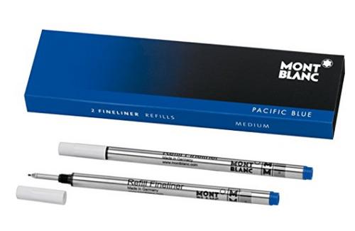 Montblanc - Blue - Medium - Fineliner Refills 110150