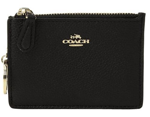 COACH Women's Box Program Mini ID Skinny Li/Black One Size 14469B-LIBLK