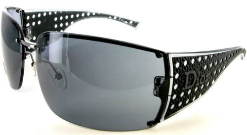 $490 Christian Dior Quadrille QHS UV Black Sunglasses [Eyewear]
