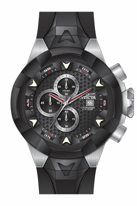 Invicta Men's 16904 I-Force Quartz Multifunction Black Dial Watch