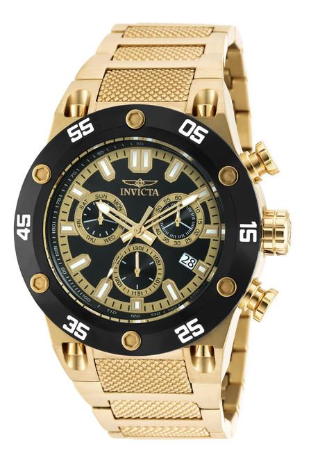 Invicta Men's 19853 Speedway Quartz Chronograph Black Dial Watch