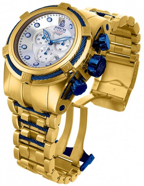 Invicta Men's 14426 Jason Taylor Quartz Chronograph , Silver Dial Watch