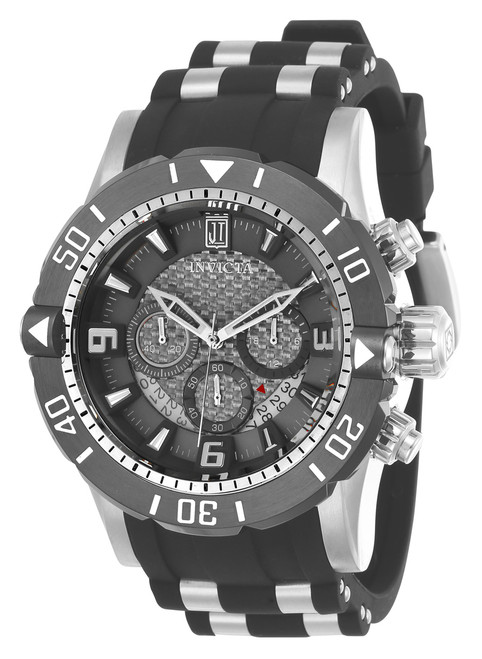 Invicta Men's 24167 Jason Taylor Quartz Chronograph Grey Dial Watch