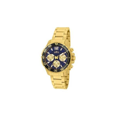Invicta Women's 25749 Pro Diver Quartz Chronograph Blue Dial Watch