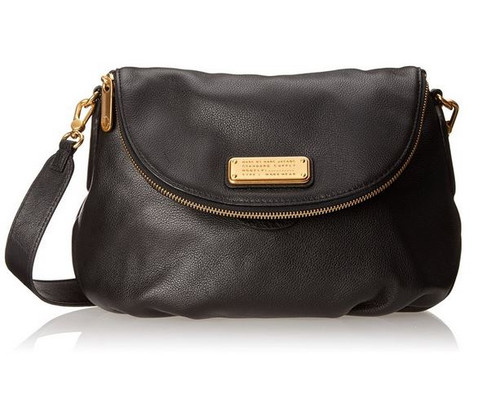 Marc by Marc Jacobs New Q Natasha Cross Body Bag, Black, One Size …