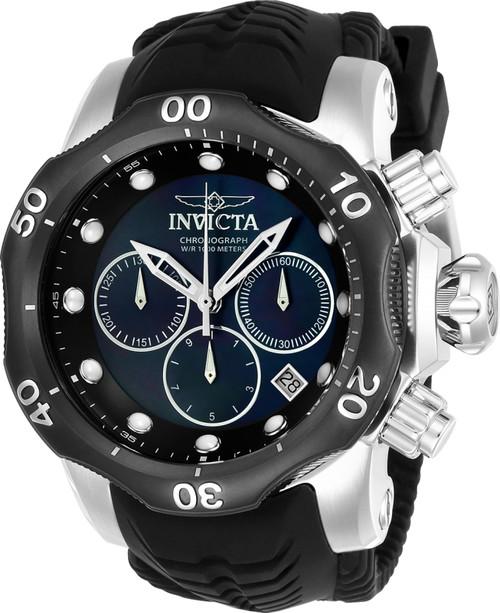 Invicta Men's 22357 Venom Quartz Chronograph Black Dial Watch