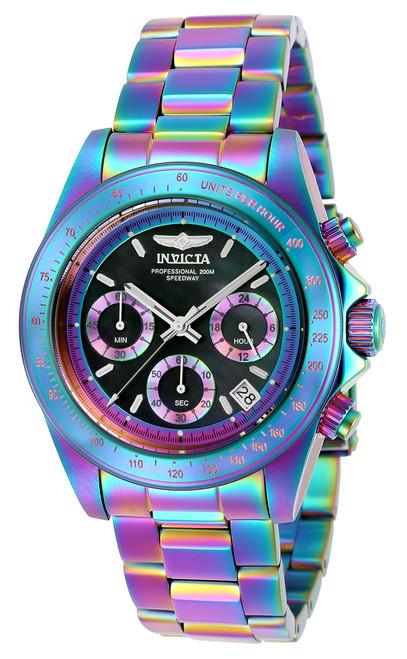 Invicta Men's 23941 Speedway Quartz Chronograph Black Dial Watch
