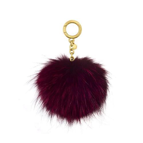 Michael Kors Fur Pom Pom Keychain Charm 32F6GKCK3F-848