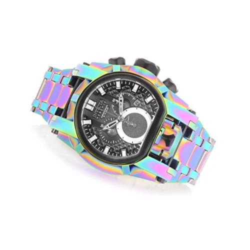 Invicta Men's 25212 Reserve Quartz Chronograph Silver Dial Watch