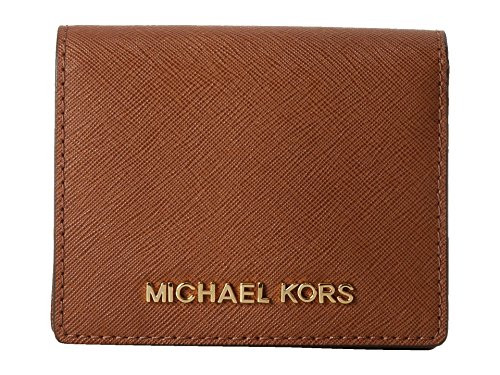 Michael Kors Jet Set Travel Flap Card Holder LUGGAGE 32T4GTVF2L-230