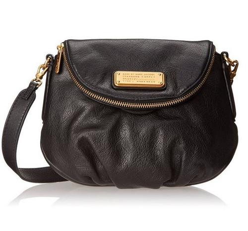 Marc by Marc Jacobs New Q Mini Natasha Cross Body Bag, Black, One Size
