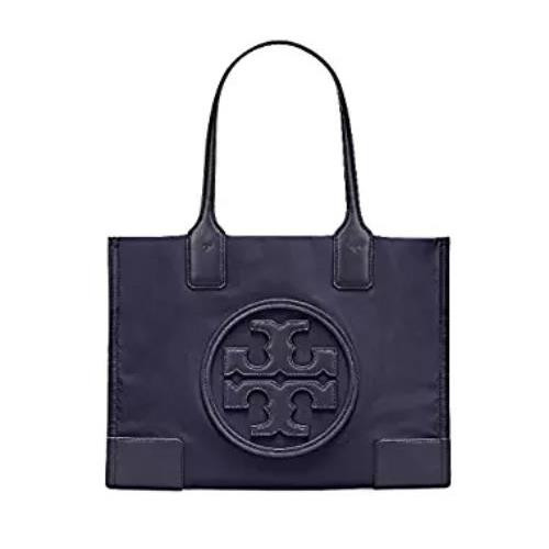 Tory Burch Ella Color-Block Mini Tote (Tory Navy) 45211-405