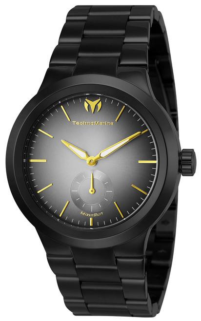 Technomarine Men's TM-117024 Moon Sun Quartz Grey Dial Watch