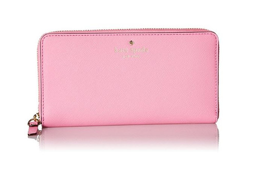 Kate Spade Cedar Street Lacey Wallet, Rouge Pink, One Size PWRU3898-679