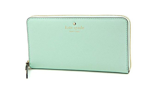 Kate spade cedar street Lacey wallet in grace blue PWRU3898-428