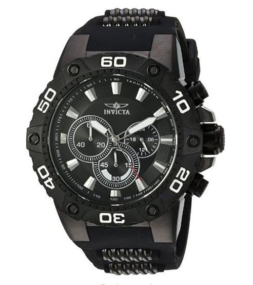 Invicta Men's 22686 Speedway Quartz Chronograph Black Dial Watch