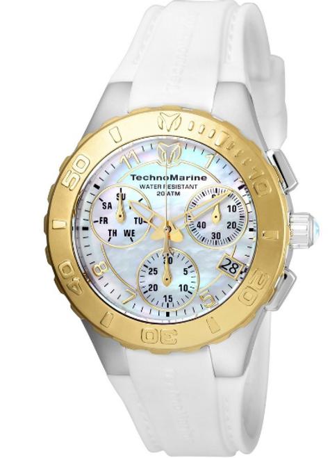 Technomarine Women's TM-115089 Cruise Medusa Quartz White Dial Watch