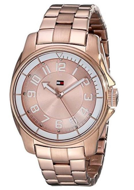 Tommy Hilfiger Women's 1781230 Sport Bracelet White Bezel Watch [Watch]