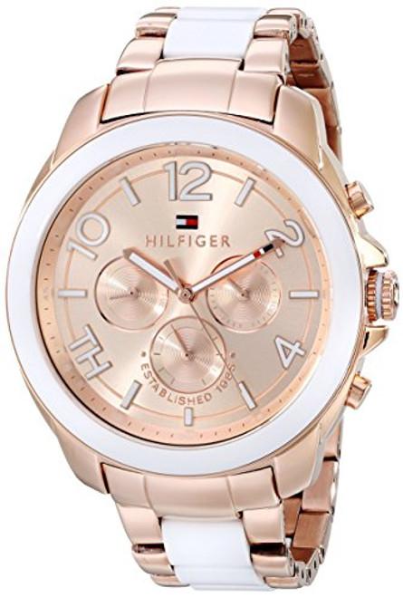 Tommy Hilfiger Women's 1781393 Rose Gold-Tone Watch